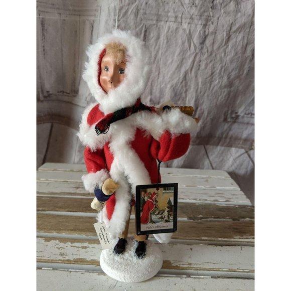 Byers choice fidos Christmas dog Victorian Xmas de